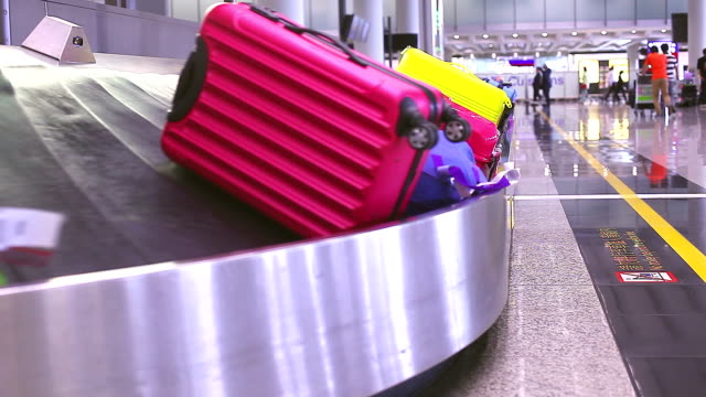 HD:Baggage belt. video