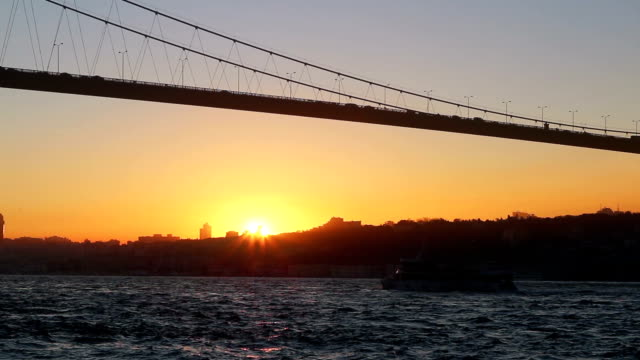 HD:Bosphorus Bridge. video