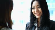 HD:Business women presenting her idea. video