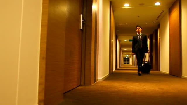 HD:Businessman arrived. video