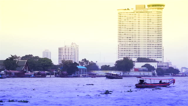 HD:Chao Phraya River video
