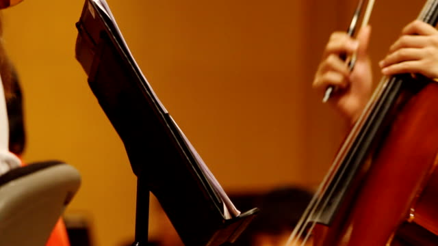 HD:Close-up musical notes sheet. video