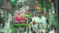 HD:Crowd people walking on the road. video