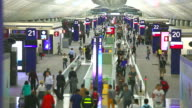 HD:Crowd traveller at the Airport. video