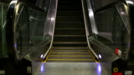 HD:Empty escalator. video