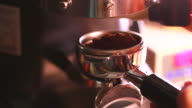 HD:Espresso Coffee making.(with sound) video