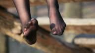 HD:Female Legs In Stockings video