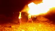 HD:Fire show. video