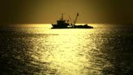 HD:Fishing boat, istanbul, TURKEY video