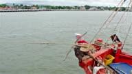 HD:Fishing boat video