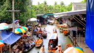HD:Floating Market(Timelaspe). video