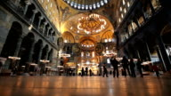 HD:Hagia Sofia **Time Lapse** video