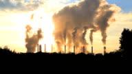HD:Hot steam from big chimney video