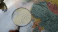 HD:India focus on the map for destination investment video