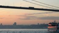 HD:Istanbul Bosphorus Bridge video