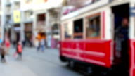 HD:istiklal street and tram video