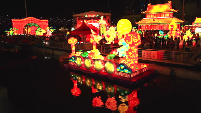 HD:Lantern festival,Lunar new year cerebration at singapore. video