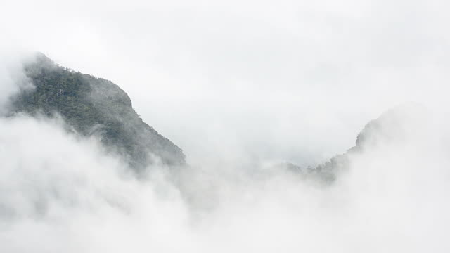 HD:Mountain in the mist video