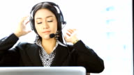 HD:Operator preparing to service. video