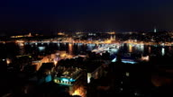 HD:Panoramic Istanbul Scene **Time Lapse** video