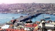 HD:Panoramic Istanbul Scene video
