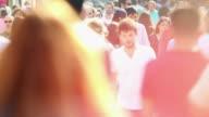 HD:People in Istiklal Street video