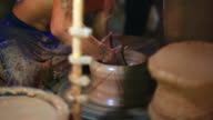 HD:Pottery handmade . video