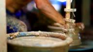HD:Pottery handmade. video