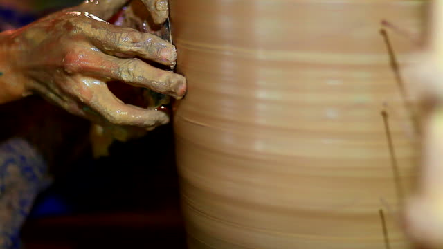 HD:Pottery handmade . video