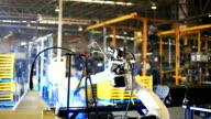 HD:Robot arm welding. video
