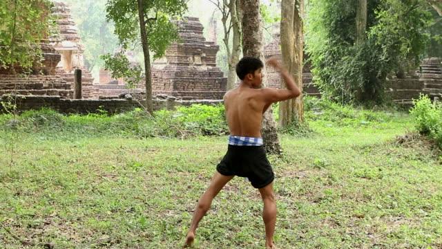 HD:Thai boxing. video