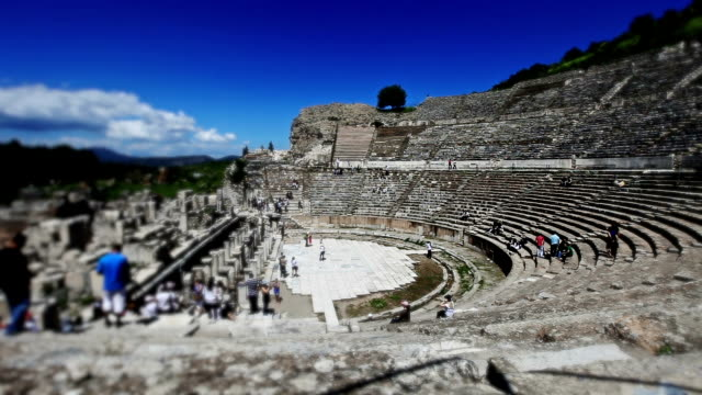 HD:The Great Theatre of Ephesus, **Time Lapse**, TURKEY video