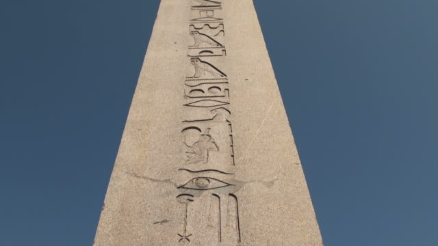 HD:The Obelisk of Theodosius  Istanbul, TURKEY video