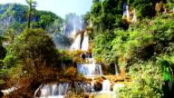 HD:Thi Lor Su Biggest waterfall in thailand. video