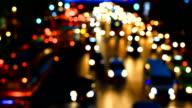 HD:Traffic in the city(defocus). video