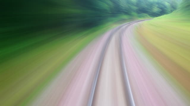 HD:Train travel. video