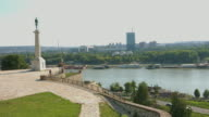 HD:Victor Monument in Belgrade, Serbia video