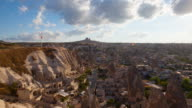 HD:view of the village Goreme in Cappadocia video