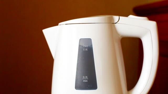 HD:Water boil in the kettle. video