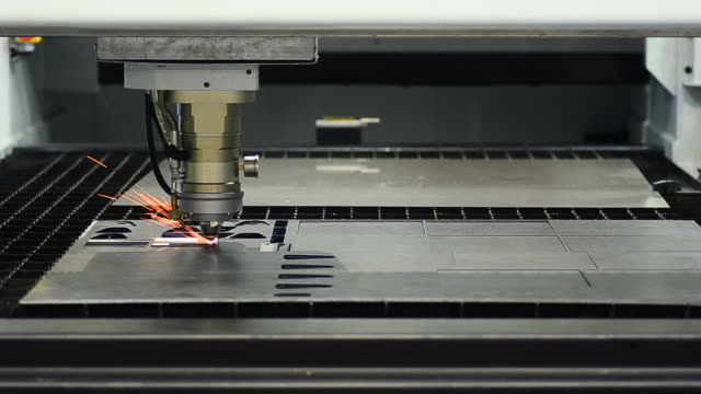 HD:Welding CNC laser machine video