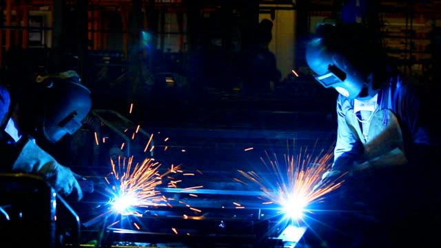 HD:Welding work. video