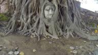 Head of Sandstone Buddha video