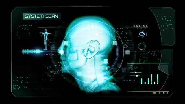 Head Scan Interface video