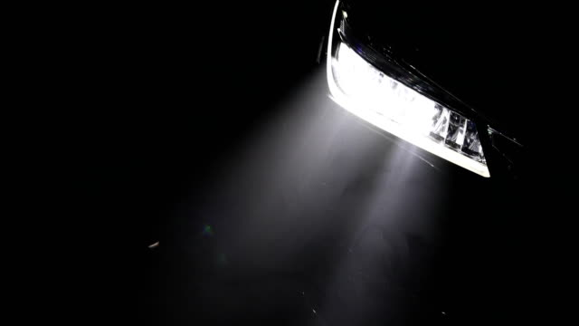Headlight car video