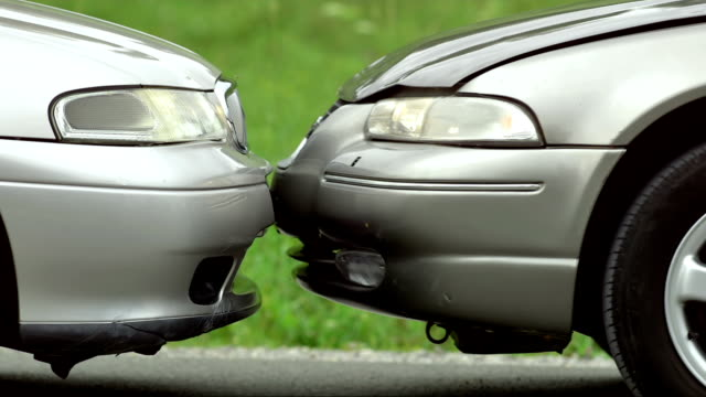 SLO MO Head-On Collision video
