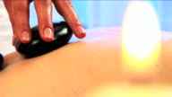 Health & Beauty Spa relaxation hot stones video