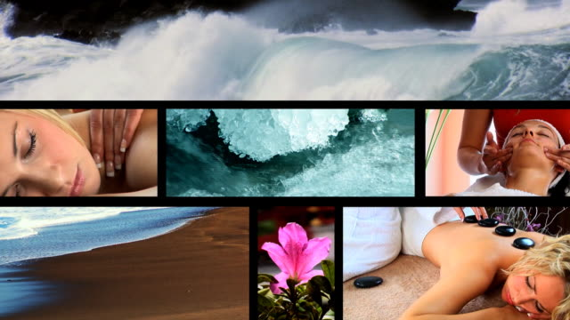 Health Spa video montage 1 video