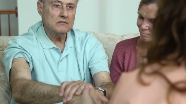 Healthcare Professional Comforts Patient b video