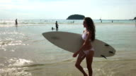 Healthy Active Lifestyle. Surfing. Summer Vacation. Extreme Sport video