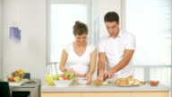 HD DOLLY: Healthy Couple video